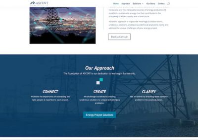 energy sector web development Canada